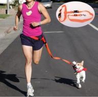 Smycz do biegania z psem - Jogging - 6 KOLORÓW