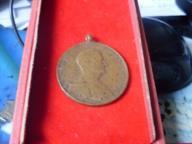 SS HUNGARY Bravery Medal Badge Bronze Horty