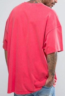em74 T-Shirt Reclaimed koszulka oversize luźny S/M