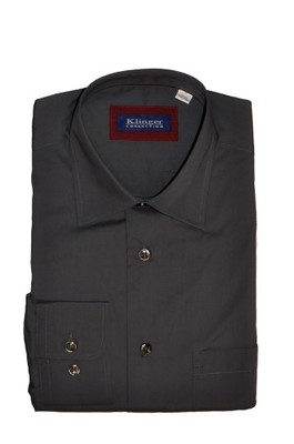 Elegancka męska koszula XL 43 182 188 grafit 6597719506  PU5BR