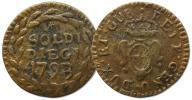 18.REPUBLIKA GENUI, 10 SOLDI 1793