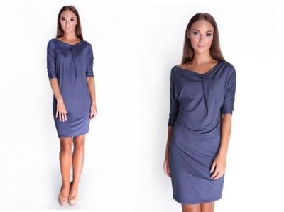 Sukienka Nietoperz Wygodna Graf 16407 2XL/3XL
