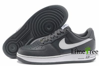 Buty Nike Air Force 1 Męskie W SzareBiałe