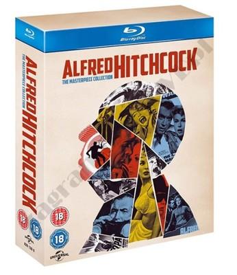 Alfred Hitchcock [14 Blu-ray] MEGA Kolekcja /SKLEP
