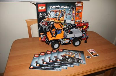 LEGO Technic 8110 Mercedes Benz Unimog