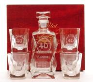 prezent na rocznicę ślubu urodziny karafka whisky