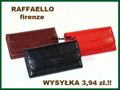 93d9a78d96d4f Portfel damski eko skóra RAFFAELLO firenze - 4961826086 - oficjalne ...