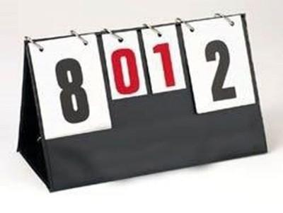 Numerator TABLICA WYNIKÓW MAŁA MODEST 0-25