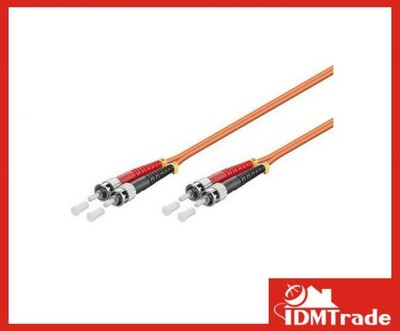 Patchcord światłowodowy LWL ST-ST OM2 DUPLEX 5m