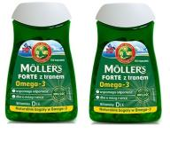 Mollers Forte 2x 112 kaps. +Forte 30 GRATIS ! Tran