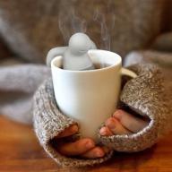 ZAPARZACZ DO HERBATY ZIÓŁ SILIKONOWY LUDZIK Mr tea