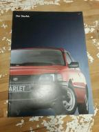 Toyota starlet prospekt, folder  retro