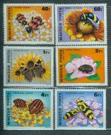 WĘGRY** Pszczoły, kwiaty  Mi 3405-10