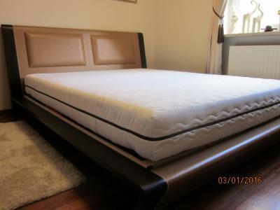 łóżko Vinotti Stelaż Materac 160x200 Sypialnia 5899574499