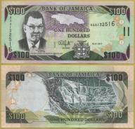 -- JAMAJKA 100 DOLLARS 2011 AUA P84f UNC