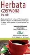 Herbata czerwona PU-ERH 100g FLOS