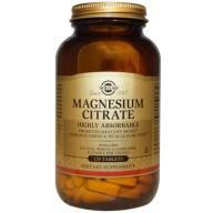 Solgar CYTRYNIAN MAGNEZU 400 mg 120 tabletek