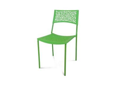 Krzesło Vegetal H309 Ażur Plastikowe Zielone 6695454728