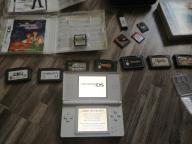 Nintendo DS Lite plus gry unikaty z GameBoya jrpg