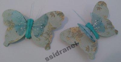 Motylki Motyle Dekoracyjne Motyl Na Prezent M29 6486644005
