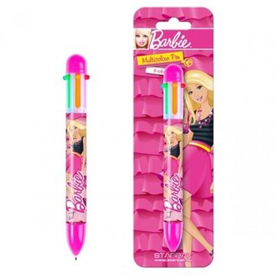 Długopis wielokolorowy Barbie - moc zabawy