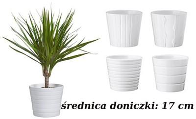 Ikea Kardemumma Osłonka Doniczki Biała 17 Cm S02