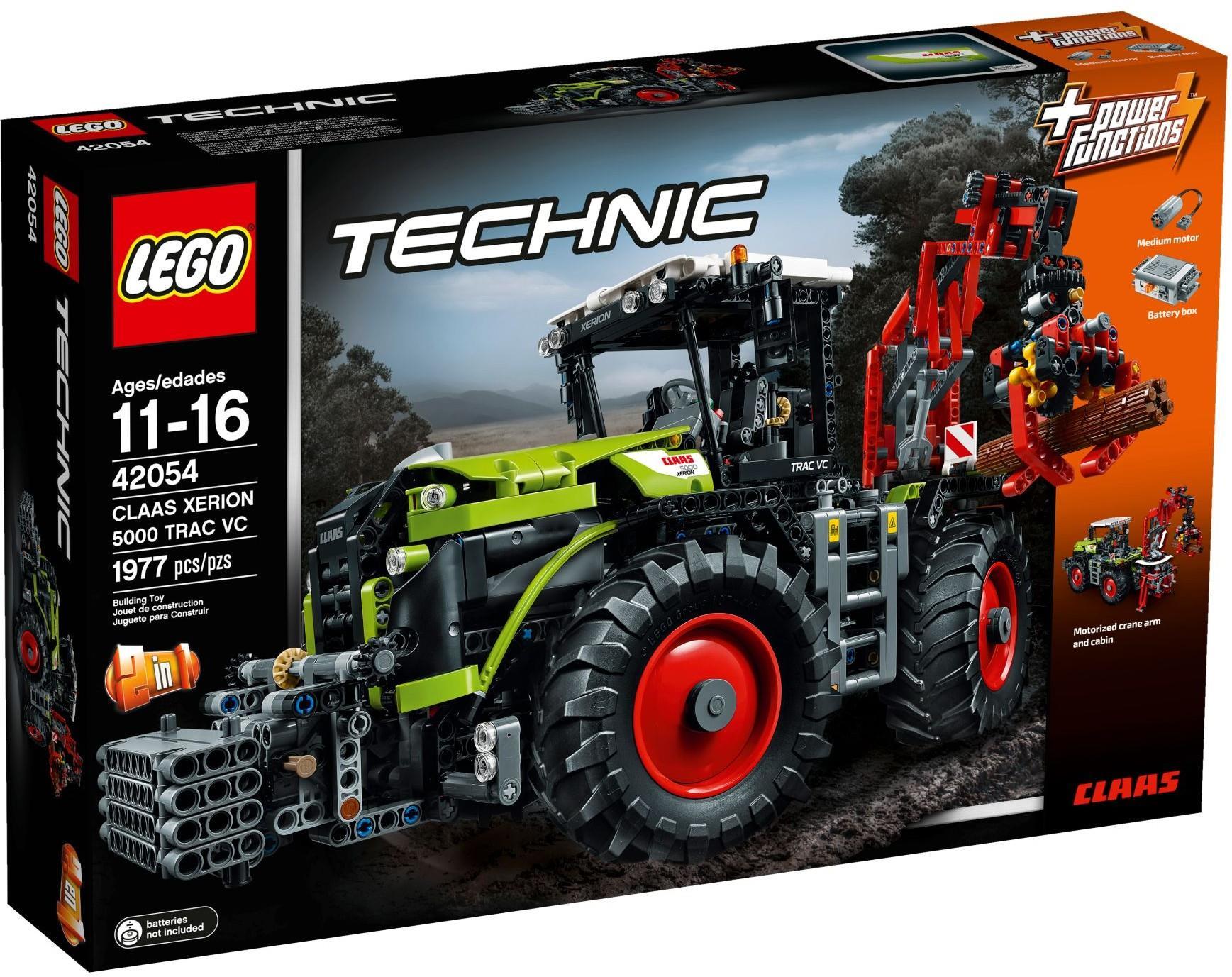 LEGO Technic Klocki CLAAS XERION 5000 42054