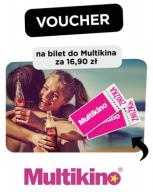 VOUCHER NA BILET DO MULTIKINO - 16,90 - CAŁY KRAJ