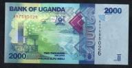Uganda 2000 shiling 2013 rok. Banknot !