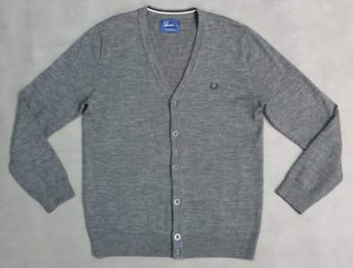 Sweter FRED PERRY Merino Wool  r. M - IDEALNY