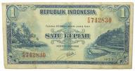 2.Indonezja, 1 Rupia 1953, P.40, St.3