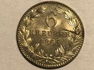 6 KREUZER 1833, PIĘKNE