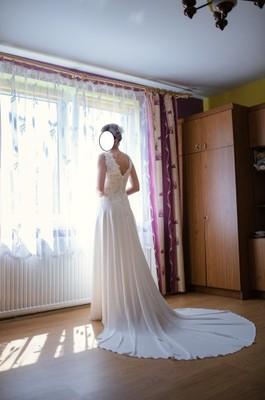 Suknia ślubna Muślin Rozm 3638 6851631302 Oficjalne