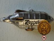 Zeppelin/Bombka wym.11x3x3cm,Lux,3690