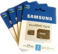 Karta Pamięci SAMSUNG MicroSD HC 4 GB Micro SD 4GB