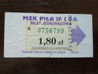 bilet u99 Piła CZG SA rew. citi financial