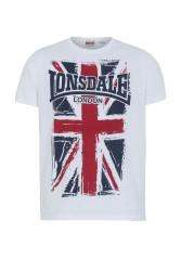 T-Shirt LONSDALE LONDON SOUTHAMPTON biały L