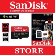 SanDisk Extreme Pro micro SDXC 64GB 100/90 MB/s