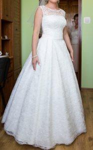 Suknia ślubna Hiszpańska Koronka 6134055563 Oficjalne Archiwum