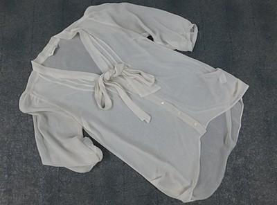 MISS SELFRIDGE - zwiewna, modna bluzka, roz.10/38