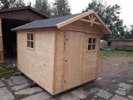 Domek drewniany gospodarczy lub dla dzieci