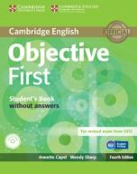Objective First Student's Book without Answers + C