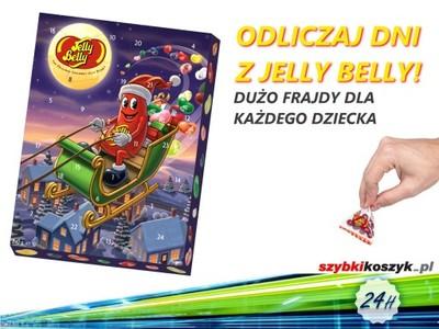 Hit Kalendarz Adwentowy Fasolki Jelly Belly 240g 6623090512 Oficjalne Archiwum Allegro