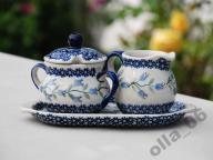 cukierniczka i mlecznik ASD ceramika Bolesławiec