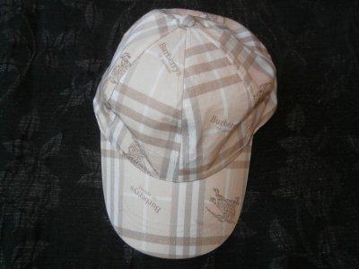 BURBERRY kaszkiet czapka z daszkiem ON SIZE