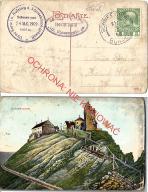 Śnieżka, Karkonosze, obieg Schneekoppe 1909