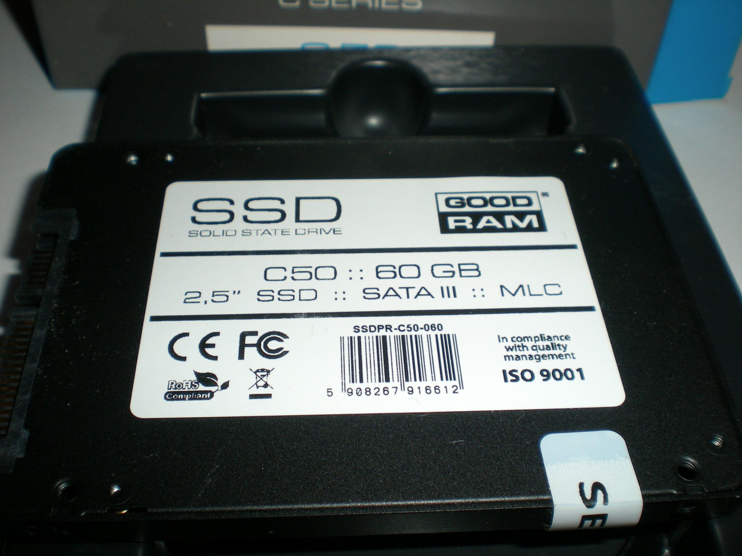 Dysk SSD GoodRam C50 60GB SATA III 2,5