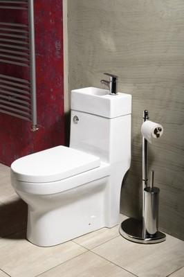 Kompakt Wc Umywalka 2w1 Gavi 36x69 Z Deska 6898442257