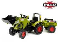FALK Traktor CLAAS ARION 540 z Łyżką i Przyczepą