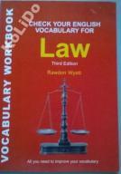 ENGLISH VOCABULARY FOR LAW David Riley